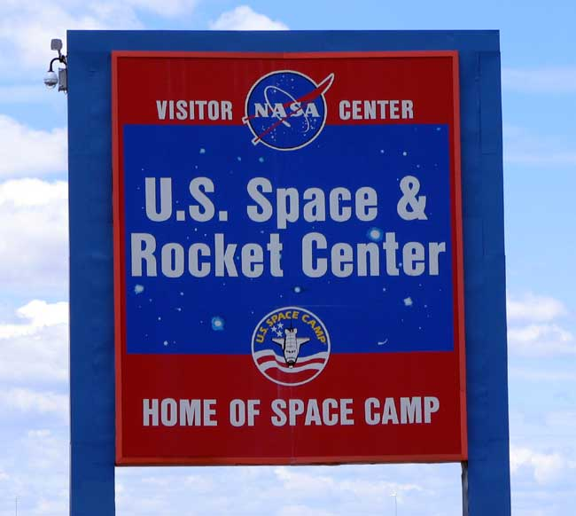 us space and rocket center sign - photo #13